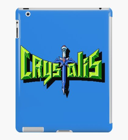 Crystalis (Nes) Title Screen iPad Case/Skin