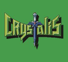 Crystalis (Nes) Title Screen One Piece - Short Sleeve