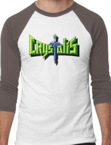 Crystalis (Nes) Title Screen Men's Baseball ¾ T-Shirt