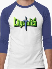 Crystalis (Nes) Title Screen Men's Baseball ¾ T-Shirt