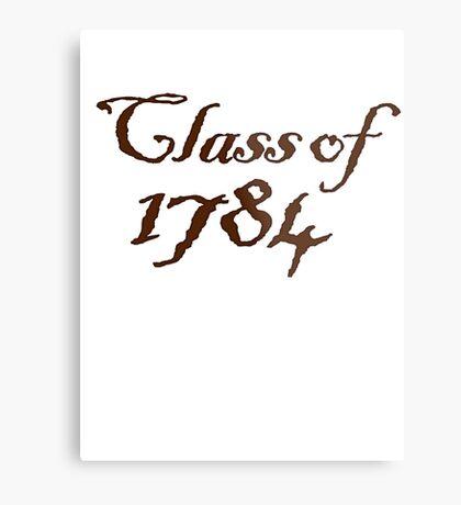 Class of 1784 Metal Print