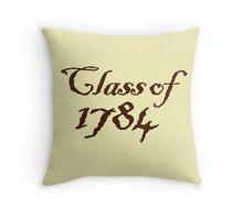 Class of 1784 Throw Pillow