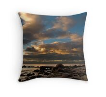 Late Afternoon Sky Throw Pillow