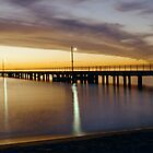 Pier Sunset by Mark Jones