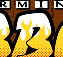 Terminus BBQ Sticker