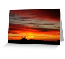 Belair Sunset Greeting Card
