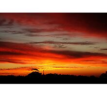 Belair Sunset Photographic Print