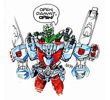 """Open, dammit, OPEN!"" Photographic Print"