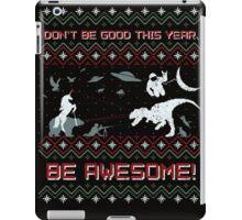 EPIC CHRISTMAS SWEATER YEAH!!! iPad Case/Skin