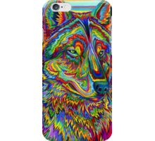 Psychedelic Wolf iPhone Case/Skin