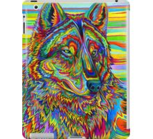 Psychedelic Wolf iPad Case/Skin