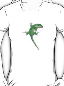 Climbing lizard. T-Shirt
