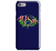 Alisia Dragoon (Genesis) Title Screen iPhone Case/Skin