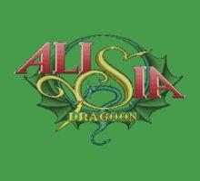 Alisia Dragoon (Genesis) Title Screen Kids Tee