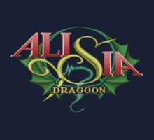 Alisia Dragoon (Genesis) Title Screen Kids Tee