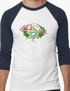 Alisia Dragoon (Genesis) Title Screen Men's Baseball ¾ T-Shirt