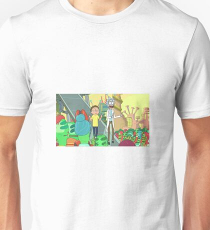 Rick and Morty peace Unisex T-Shirt