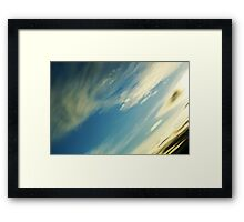 Earth View Framed Print