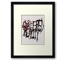 shattered reality Framed Print