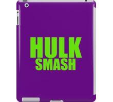 Hulk Smash - Green Text iPad Case/Skin