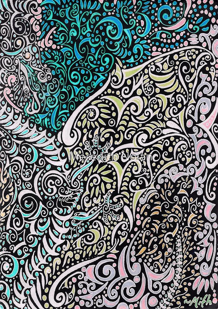 Swirly Dragon by Meredith Nolan