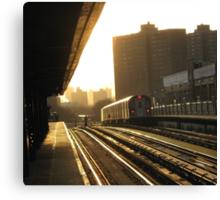 Bronx Subway, New York City  Canvas Print