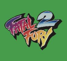 Fatal Fury 2 (Arcade) title Screen One Piece - Short Sleeve