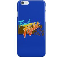Final Fight (SNES) Title Screen iPhone Case/Skin