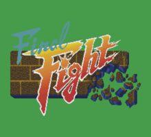 Final Fight (SNES) Title Screen Baby Tee