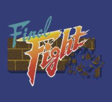 Final Fight (SNES) Title Screen by AvalancheShirts