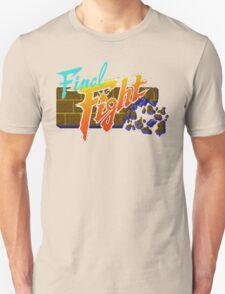 Final Fight (SNES) Title Screen Unisex T-Shirt
