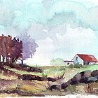 A farmer's cottage by Maree  Clarkson