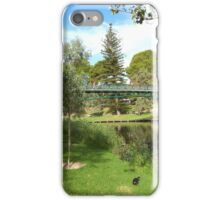 University Footbridge! Parklands, Adelaide C.B.D. iPhone Case/Skin