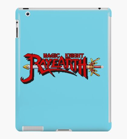 Magic Knight Rayearth (SNES) Title Screen iPad Case/Skin