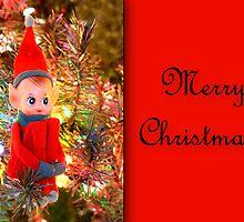 Vintage Elf Card by Sheryl Kasper