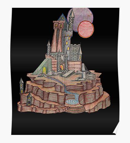 castle on black Poster