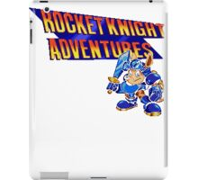 Rocket knight Adventures (Snes) Title Screen iPad Case/Skin