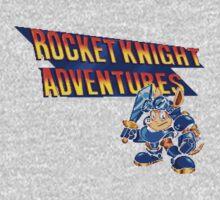 Rocket knight Adventures (Snes) Title Screen One Piece - Long Sleeve