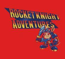 Rocket knight Adventures (Snes) Title Screen One Piece - Short Sleeve