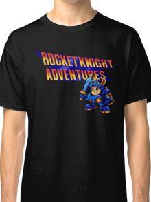 Rocket knight Adventures (Snes) Title Screen Classic T-Shirt