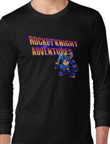 Rocket knight Adventures (Snes) Title Screen Long Sleeve T-Shirt