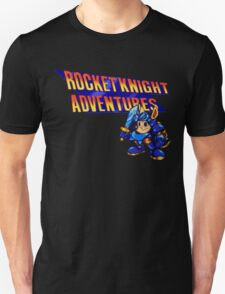 Rocket knight Adventures (Snes) Title Screen T-Shirt