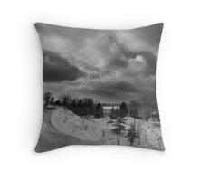 Michigan Dunes Throw Pillow