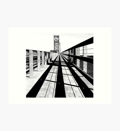 Bridge Study Art Print