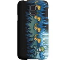 Pixel Jurassic World Samsung Galaxy Case/Skin