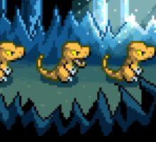 Pixel Jurassic World Sticker