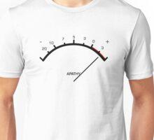 Apathy Meter Unisex T-Shirt