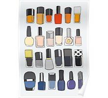 My nail polish collection Poster