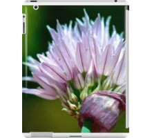 Chives Flower iPad Case/Skin