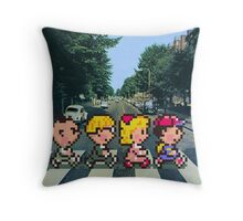 Ness' Road Throw Pillow